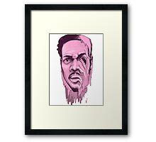 Chance the Acid Rapper Framed Print