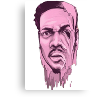 Chance the Acid Rapper Canvas Print
