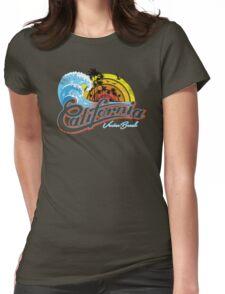California Venice Beach Womens Fitted T-Shirt