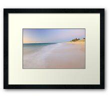 Cottesloe Beach - Western Australia  Framed Print