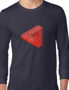 Escher Toy Bricks Long Sleeve T-Shirt