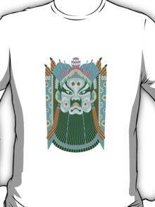 Chinese opera mask 3 T-Shirt