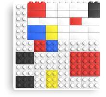 Mondrian Toy Bricks Canvas Print