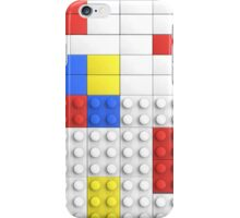 Mondrian Toy Bricks iPhone Case/Skin