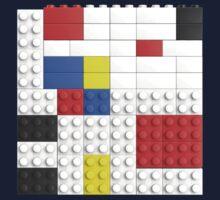 Mondrian Toy Bricks by Christopher Watson