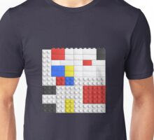 Mondrian Toy Bricks Unisex T-Shirt