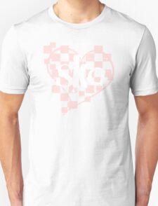 ska : checkered heart T-Shirt