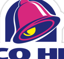 taco hell Sticker