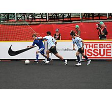 2008 Homeless World Cup Photographic Print