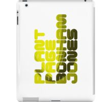 Plant Page Bonham Jones iPad Case/Skin