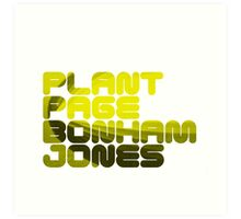 Plant Page Bonham Jones Art Print