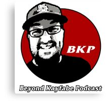 Beyond Kayfabe Podcast - Kentucky Fried Canvas Print