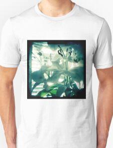 White lilies photograph Unisex T-Shirt