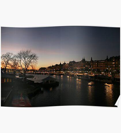 Stockholm by Night Poster