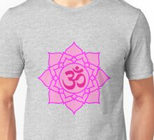 Lotus and Om Unisex T-Shirt