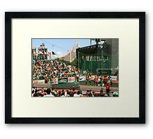 Homeless World Cup Framed Print