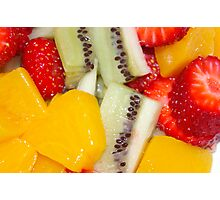 Fruit salad Photographic Print