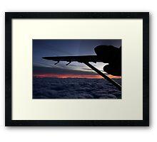 Arkansas Sunset Framed Print