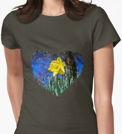 Happy St David's Day Womens Fitted T-Shirt