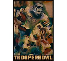 Retro Trooper Bowl One  Photographic Print