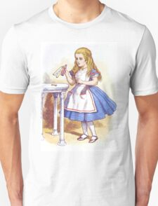 Alice and the Drink Unisex T-Shirt