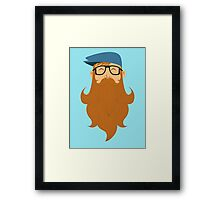 A beards tale Framed Print