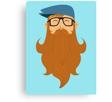 A beards tale Canvas Print