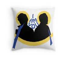 Sherlock and Moriarty - I am You Throw Pillow