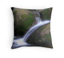 Taggerty river at Keppels falls Throw Pillow