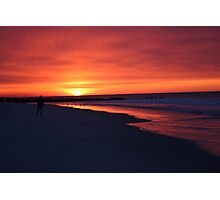 Orange Dawn LBNY 3-1-15 IMG_5927 Photographic Print