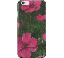 Pink Meadow Flowers iPhone Case/Skin