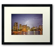 Main Beach Framed Print