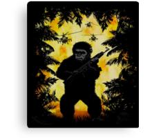 The Last Ape Canvas Print