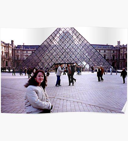 The Louvre - Paris Poster