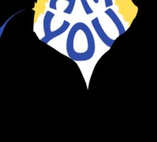 Sherlock and Moriarty - I am You Sticker