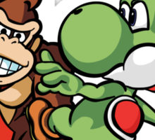 Boosted DK and Yoshi Sticker