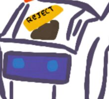 Chappie  Sticker