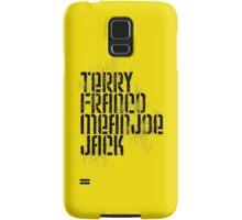 Terry Franco Mean Joe Jack / Gold Samsung Galaxy Case/Skin