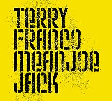 Terry Franco Mean Joe Jack / Gold by walker12to88