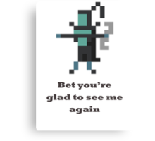 Phantom Assassin - Bet you're glad to see me again Canvas Print
