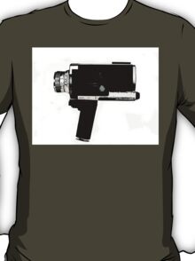 8mm Movie Camera T-Shirt