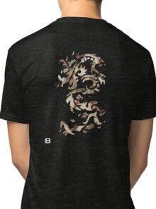Chinese Tribal Dragon Tri-blend T-Shirt