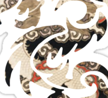 Chinese Tribal Dragon Sticker