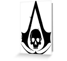 Assassin's Creed Skull Greeting Card