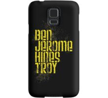 Ben Jerome Hines Troy / Black Samsung Galaxy Case/Skin