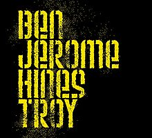 Ben Jerome Hines Troy / Black by walker12to88