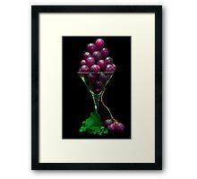 Grape Juice Framed Print
