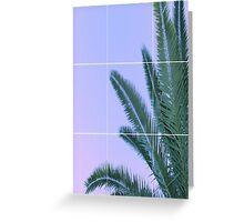 tree grid Greeting Card