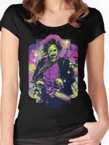 Leatherface  Women's Fitted Scoop T-Shirt