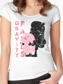 Welcome to Gravity Falls - MABEL PINES Women's Fitted Scoop T-Shirt